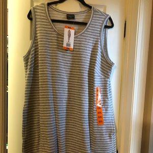 Dresses & Skirts - Ladies sleeveless dress with side pocket
